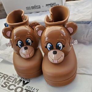 Mini Melissa X Jeremy Scott Monkey Rain Boots